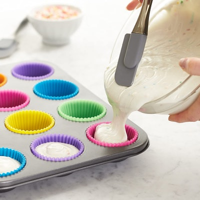 Amazon Basics Reusable Silicone Baking Cups (12-Pack)