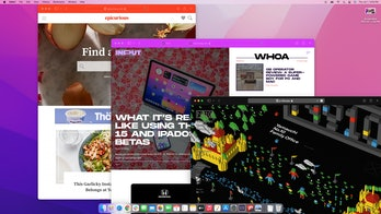 macOS Monterey public beta hands-on Safari. New group tabs. Windows take on the color of web pages.