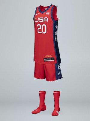 Nike U.S. Women's Basketball Red Dynasty Olympics Jersey