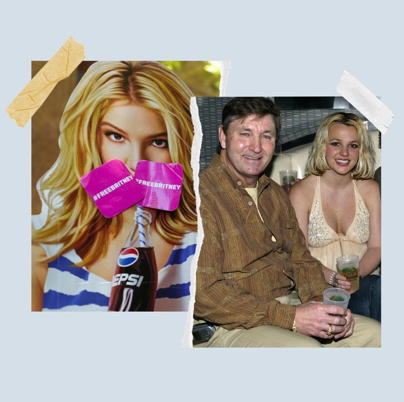 Britney Spears and her dad Jamie Spears