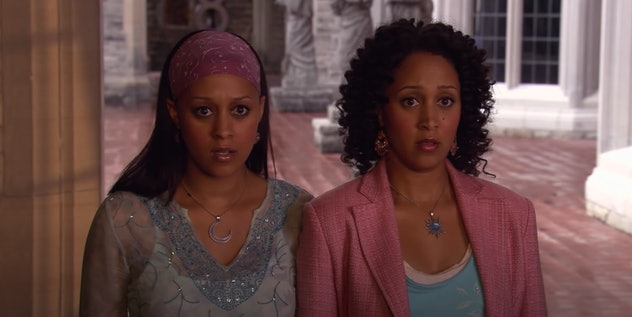 Tia and Tamera Mowry star in the 2005 film, 'Twitches.'