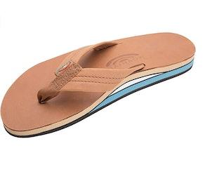 Rainbow Sandals Leather Flip Flops