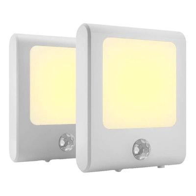 MAZ-TEK Plug in Motion Sensor Lights (2-Pack)