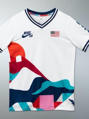 Nike Piet Prada Olympic Skateboarding Uniform