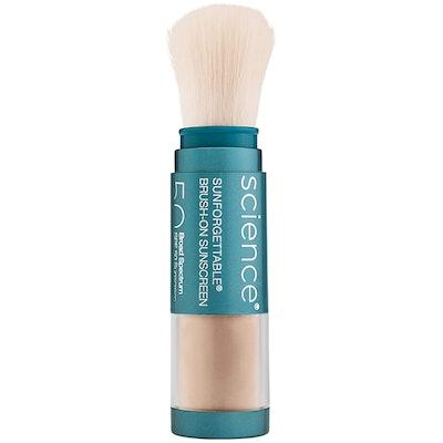 Colorescience Brush-On Sunscreen Mineral Powder SPF 50 (0.21 Oz)