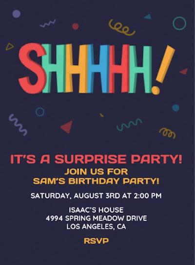 Surprise Invite