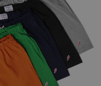 Noah Winged Foot Rugby Shorts