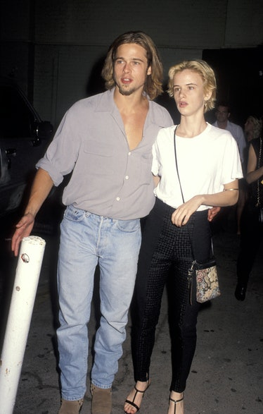 Brad and Juliette both blonde