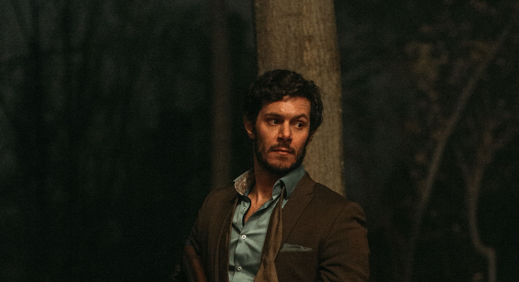 Adam Brody in Ready or Not.