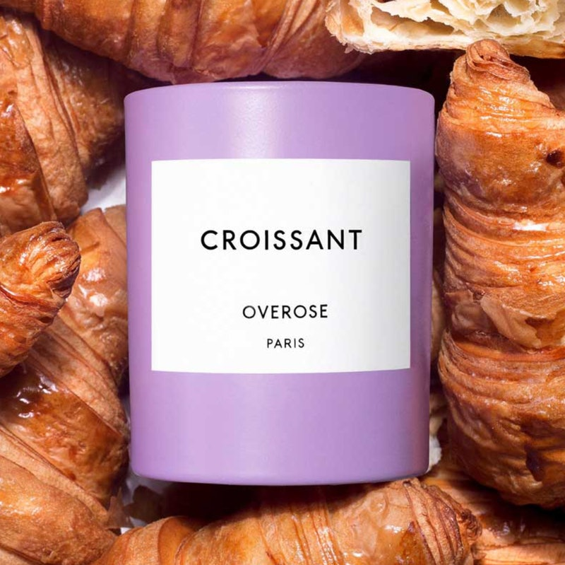 Overose Croissant Candle