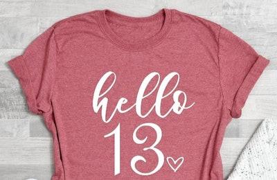 Hello 13 Shirt