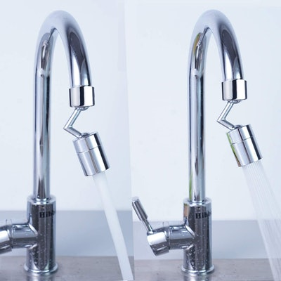 Hibbent 720-Degree Faucet Aerator