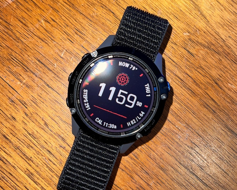 Garmin Fenix 6 band review: 22mm Abanen Hook and Loop Quick Dry Watch Band