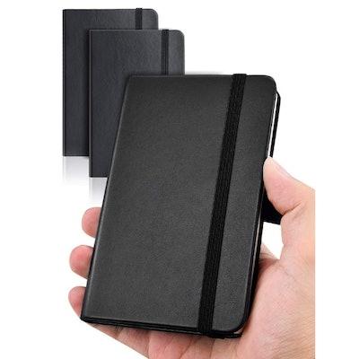 AISBUGUR Pocket Notebook (2-Pack)