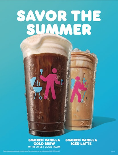 Dunkin's summer 2021 menu is packed with refreshing sips like a new cold brew.