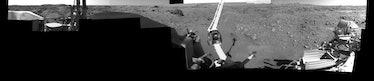 first panorama of Mars Viking 1 photograph