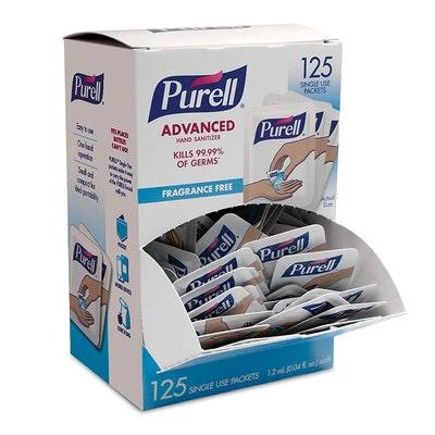 Purell SINGLES Travel Size Packets