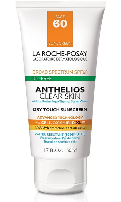 La Roche-Posay Anthelios Clear Skin Dry Touch Sunscreen Broad Spectrum SPF 60 (1.7 Oz)