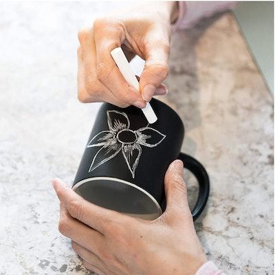 Paladone Personalized Chalkboard Ceramic Coffee Mug
