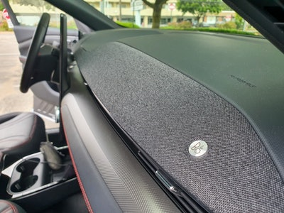 Ford Mustang Mach-E First Edition AWD Carbonized Gray sound system