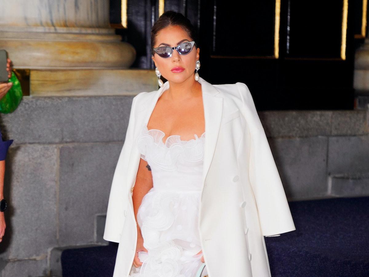 Lady Gaga Gowns 2021 Alexander McQueen Giambattista Valli