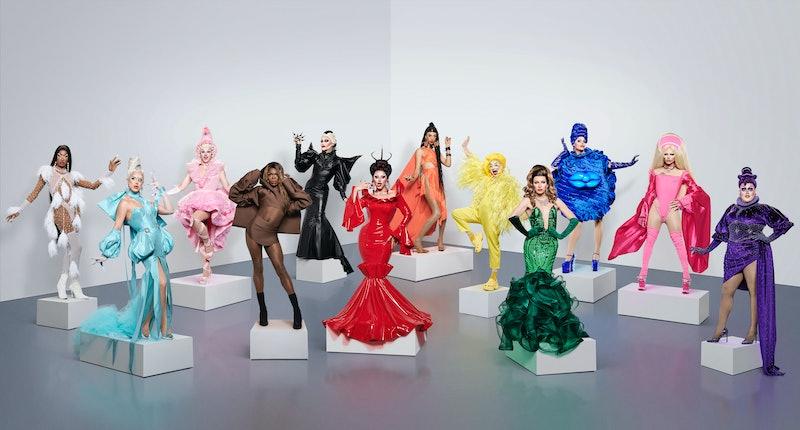 'Drag Race UK' season two queens.