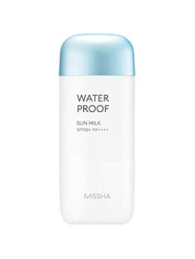 MISSHA All Around Safe Block Waterproof Sun Milk SPF50+ (2.3 Oz)