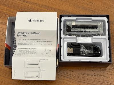 Epilogue GB Operator packaging