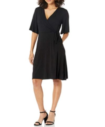 Amazon Essentials Sleeve Wrap Dress