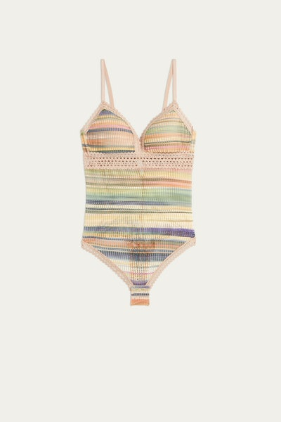 Color Stripes Tiziana Bodysuit
