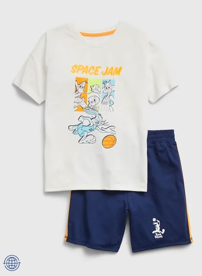 Space Jam 100% Recycled Polyester PJ Set