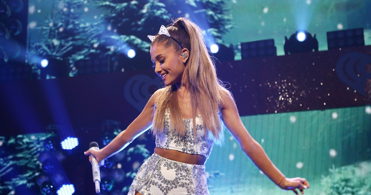 Nackt creampie grande ariana Ariana Grande