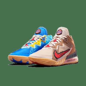 Nike Road Runner vs Wile E. Coyote LeBron 18 Low