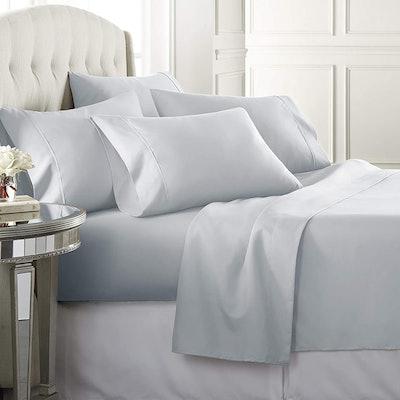 Danjor Linens 6-Piece Microfiber Bed Sheet Set