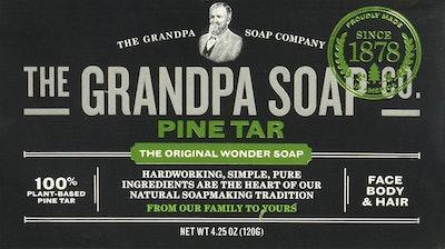 Grandpas Pine Tar Soap, 4.25 Oz.