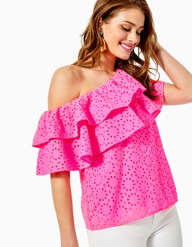 Trixie One-Shoulder Top