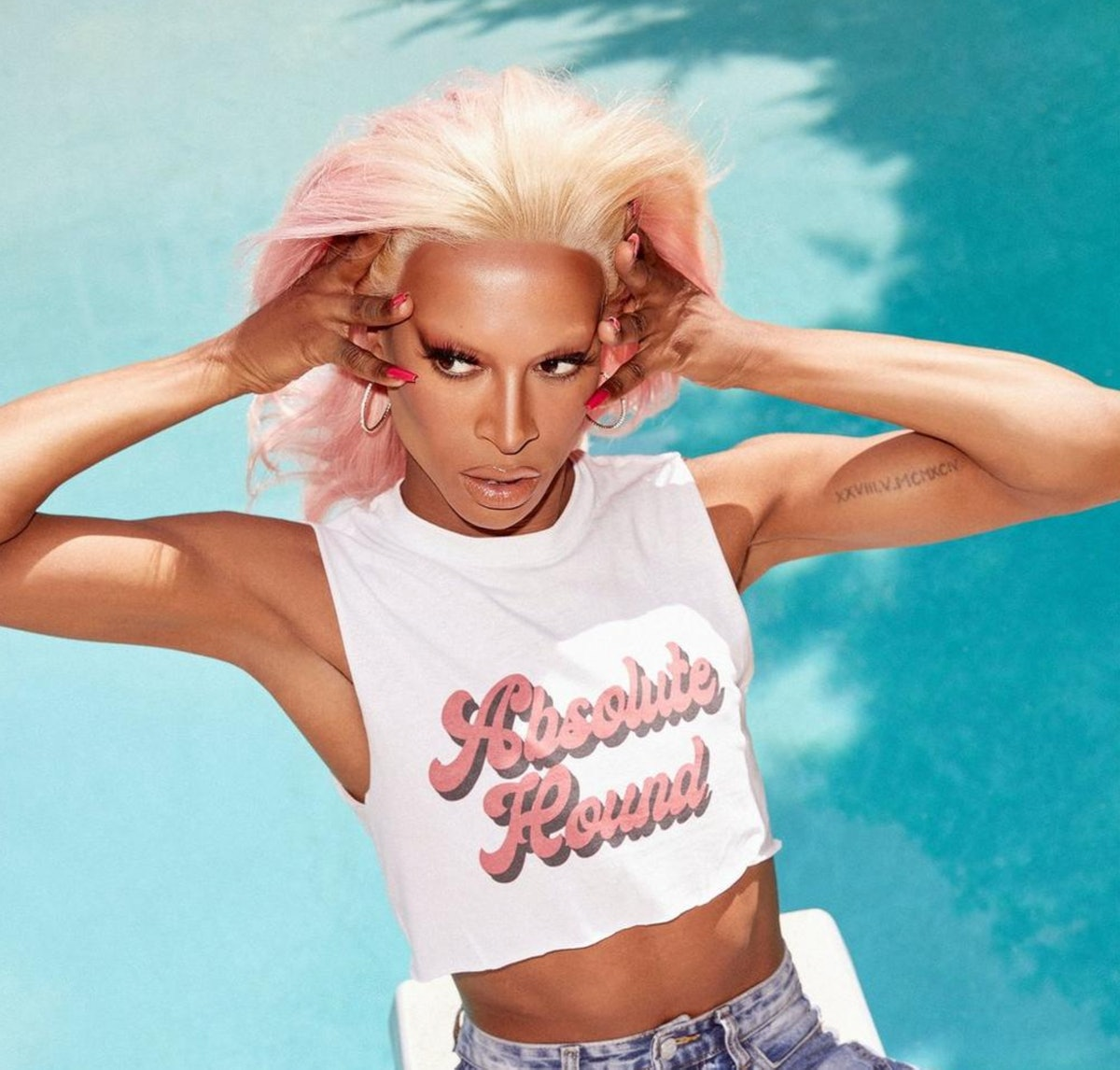 Welsh drag queen on RuPaul's Drag Race Tayce models the Tayce x Nasty Gal Collection