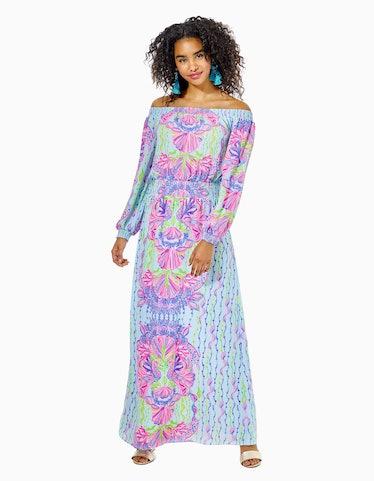 Bria Off-The-Shoulder Maxi Dress