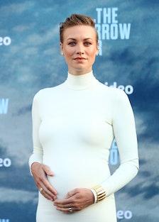 Yvonne Strahovski Pregnant