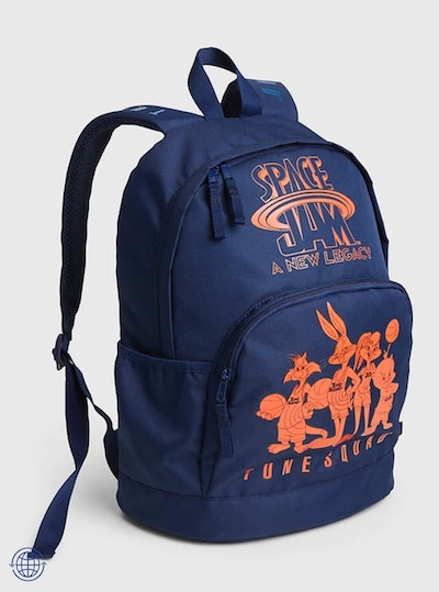 Space Jam Graphic Recycled Polyester Senior Backpack