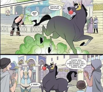 Loki animals shapeshifting marvel comics norse mythology