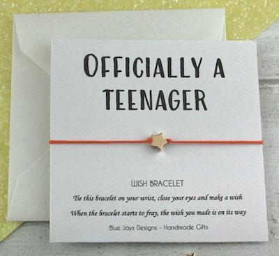 13th Birthday Bracelet