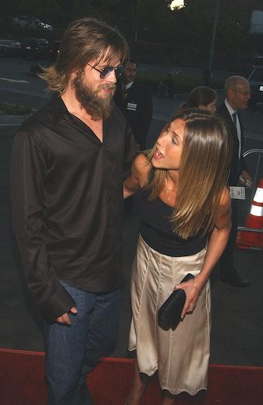 Brad Pitt with a huge beard