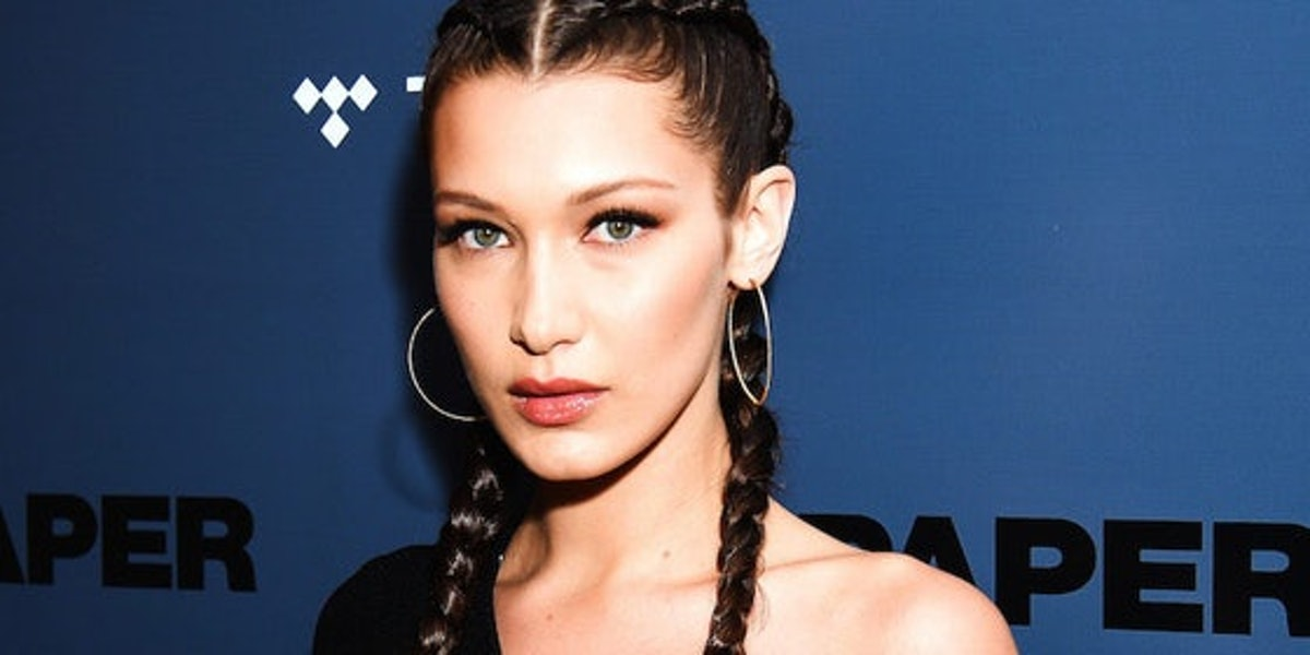 Bella Hadid's pic kissing Marc Kalman means they're totally IG official.