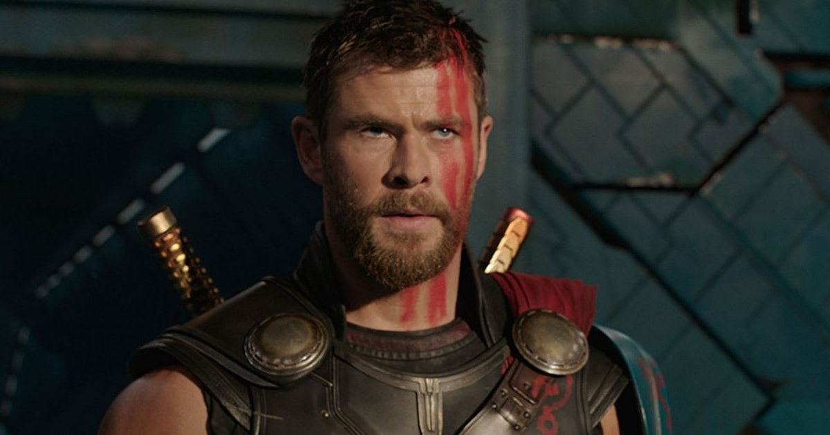 Chris Hemsworth in 'Thor: Ragnorak.'