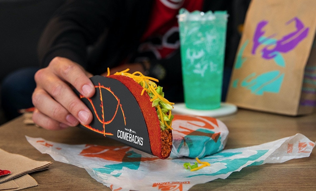 Here's how to get free Flamin' Hot Doritos Locos Tacos from Taco Bell.