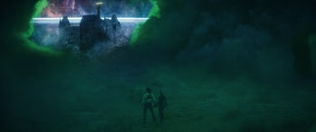 The cosmic castle at the end of Loki Episode 5
