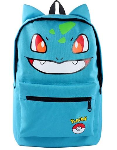 Green Bulbasaur Backpack