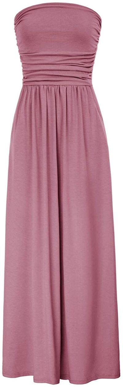 Grace Karin Strapless Maxi Dress