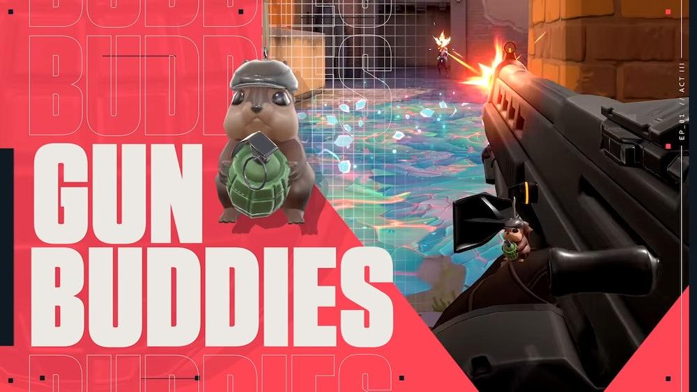 Riot Games Squirrel Tactics Gun Buddy
